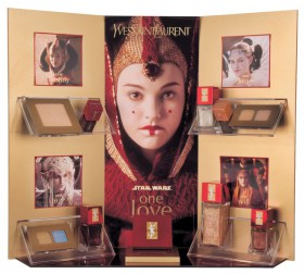yves-saint-laurent-star-wars-one-love-makeup-display